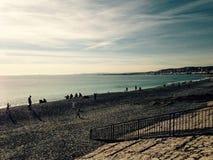 Жизнь пляжа Стоковая Фотография RF