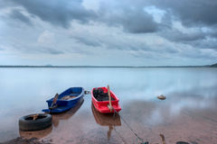 Жизнь рыболова Таиланда Стоковые Фотографии RF