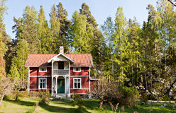 жизнь сельская Швеция Стоковая Фотография