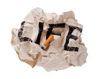 жизнь сигарет Стоковое Фото