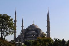 Жизнь Стамбула стоковая фотография