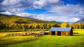 Жизнь страны в Crested Butte Стоковое Изображение RF