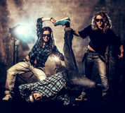 Жизнь с танцем Стоковые Изображения RF