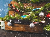жизнь украшений рождества все еще Стоковые Изображения