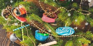 жизнь украшений рождества все еще Стоковая Фотография