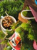 жизнь украшений рождества все еще Стоковое Изображение RF