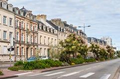 Жизнь улицы в cherbourg-Octeville, Нормандии, Франции Стоковое фото RF