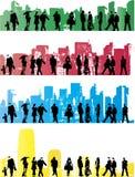 жизнь урбанская Бесплатная Иллюстрация