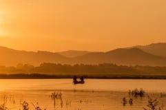 жизнь утра рыболова Стоковое фото RF
