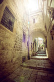 Жизнь улицы Дубровника, Хорватия Стоковая Фотография RF