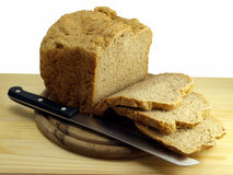 жизнь хлеба отрезанная все еще Стоковое Фото