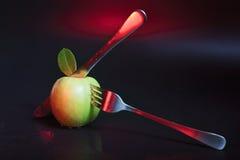 жизнь яблока все еще Стоковые Изображения