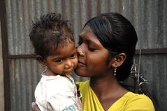 жизнь jharia Индии угольных шахт зоны Стоковое Изображение