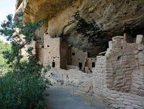 Жилища скалы в национальном парке мезы Verde Стоковое Фото