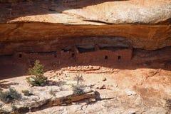 Жилища скалы в соотечественнике наводят национальный монумент Стоковые Изображения RF