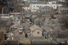 Жилища старого стиля в Пекине Стоковое Фото