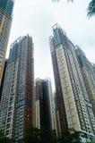 Жилое высокое здание как раз было завершено стоковое изображение rf