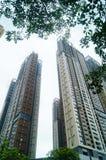 Жилое высокое здание как раз было завершено стоковое фото rf
