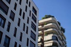 Жилой жилой дом в центре города Тираны Стоковые Изображения RF