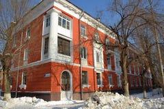 Жилой дом на улице Nosov в городе Togliatti Стоковая Фотография