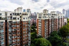 Жилой дом 6 Шанхая Highrise стоковое изображение