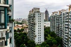 Жилой дом 9 Шанхая Highrise стоковые фотографии rf