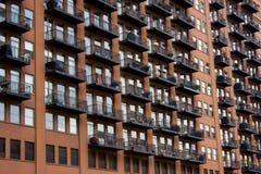 жилой дом chicago Стоковые Фото
