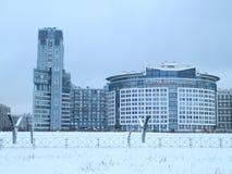 Жилой квартал на окраинах города Стоковые Изображения RF