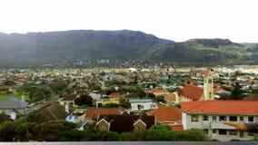 Жилые дома Кейптауна, Южной Африки стоковые фото