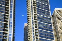 жилые дома chicago новый Стоковое Изображение