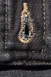 джинсовая ткань предпосылки черная Стоковое Изображение RF