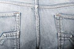 джинсы текстуры Стоковая Фотография
