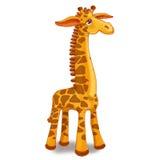 Жираф игрушки на белой предпосылке Стоковые Фотографии RF