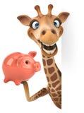Жираф потехи Стоковая Фотография