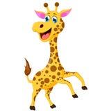 Жираф шаржа для вас дизайн Стоковые Изображения