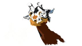 Жираф иллюстрация вектора