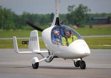 Жироплан Calidus на Ватерлоо Airshow, Онтарио, Канаде Стоковое Фото