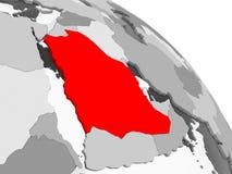 житель Саудовской Аравии карты Аравии иллюстрация штока