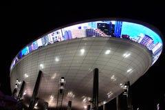 житель Саудовской Аравии павильона экспо Аравии Стоковые Фотографии RF