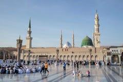 житель Саудовской Аравии nabawi мечети medina Аравии Стоковые Изображения