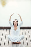 Жить в балансе с миром Стоковое Изображение RF