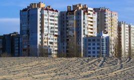 Жилая квартальная Украина Стоковые Фото