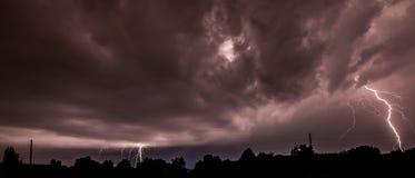 Жилая молния Стоковая Фотография RF