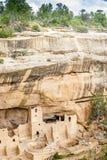 Жилища скалы в национальных парках мезы Verde, CO, США Стоковая Фотография