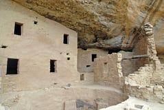 Жилища скалы на национальном парке мезы Verde, Колорадо Стоковое Изображение RF