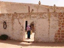 Жилище berbers в горах Стоковые Изображения