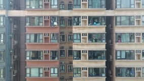 Жилищное строительство квартиры городской жизни плоское Стоковая Фотография