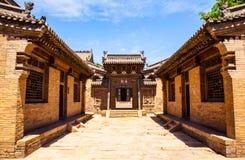 Жилищное строительство парка поместья Chang сцен-китайское старое. Стоковое Изображение