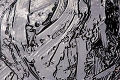 Жидкостная поверхность битума стоковая фотография