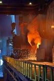 жидкостный лить металла Стоковая Фотография RF